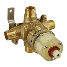 Pressure Balance Bath & Shower Rough-In Valve With Universal Inlets / Outlets