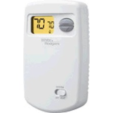 White Rodgers 1E78-140 Thermostat, Heat only, Non-programmable