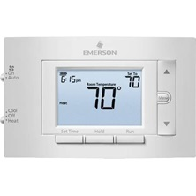 80 Series 1H/1C Conventional 7D Programmable Thermostat With Keypad Lockout