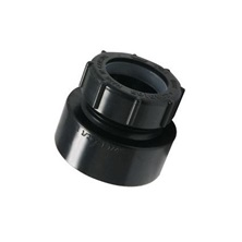 "ABS Female Trap Adapter, 1-1/2"" x 1-1/4"" H x Slip DWV"